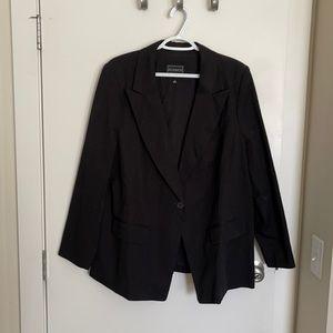 New without tags black Eloquii blazer size 18